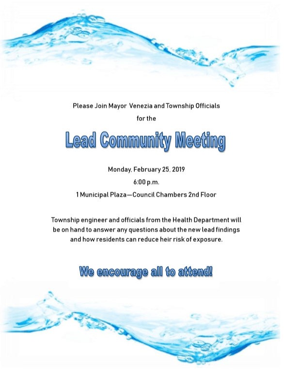 Lead Community Meeting