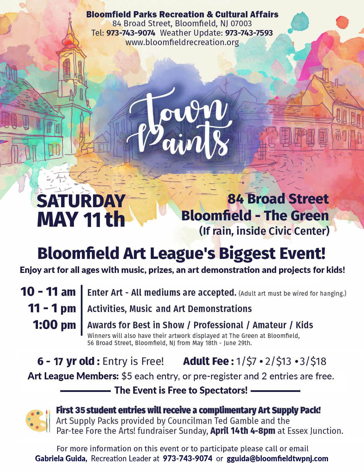 town paints - BAL 2019