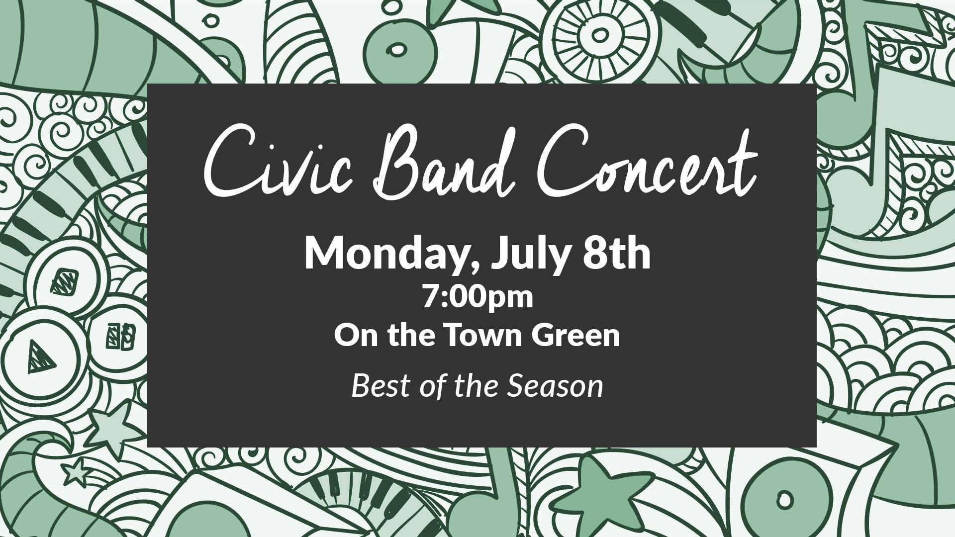 Civic Band - July 8th