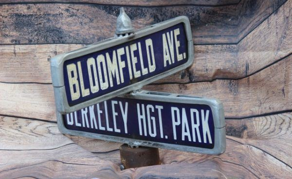Bloomfield Ave Street Sign