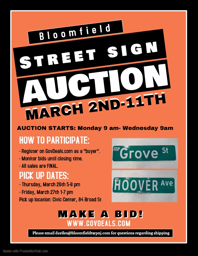 2nd auction flyer