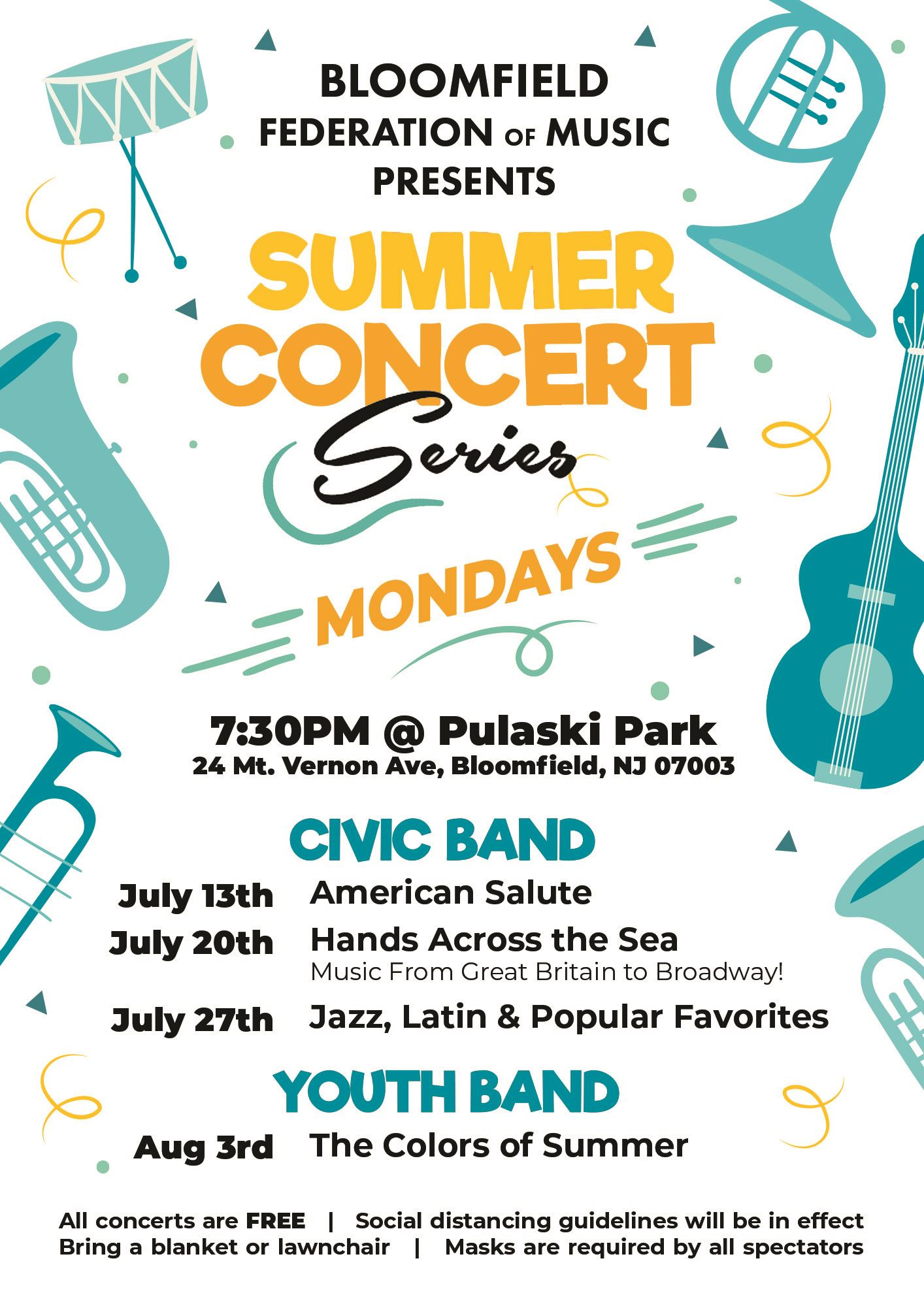 FOM summer concert series