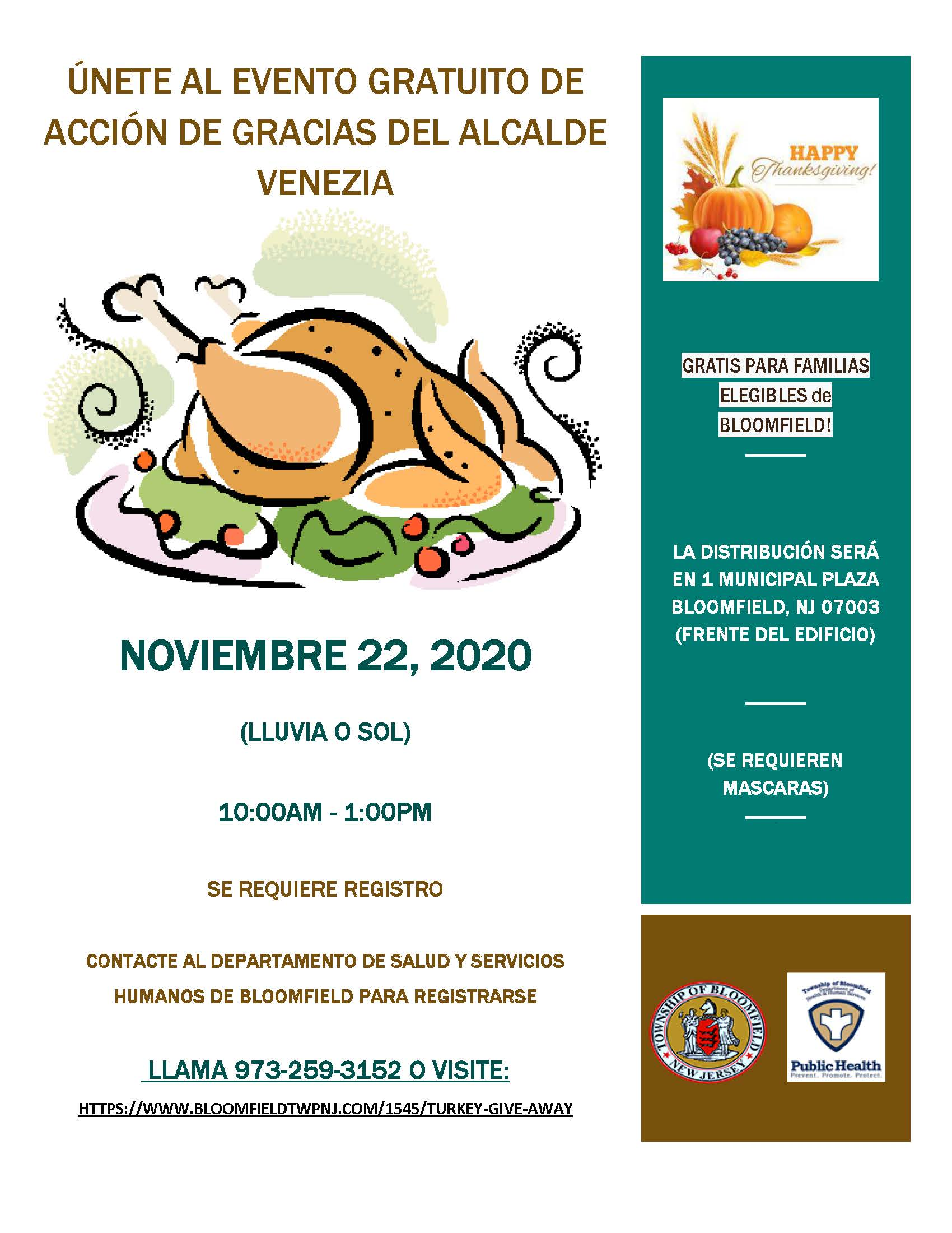 Turkey Giveaway SP 2020