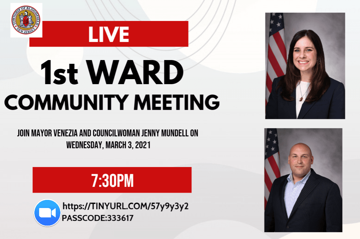 1st ward meeting 2021
